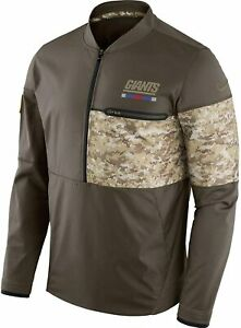 Nike New York Giants Men's NFL Salute to Service Hybrid Pullover Jacket