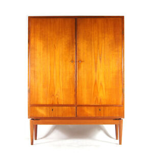 Retro Vintage Danish Teak Sideboard High Drinks Cabinet Dresser Wardrobe 60s 70s