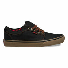 Vans Chukka Low (Buffalo Suede) Black Gum Skate Shoes Men's 6.5 Women's 8
