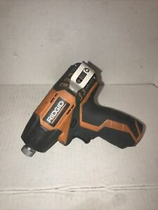 RIDGID 12V Compact IMPACT DRIVER (BARE-TOOL) R82230 Works Perfectly