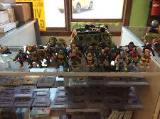 Playmates Ninja Turtles Vintage & Modern Figure Lot Of 29 W/ 2014 Assault Van