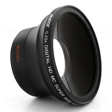 .43 FISHEYE Fish Eye Wide LENS FOR Sony Alpha 300 A-100 A330 A350 A230 A900 A380