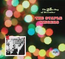 STAPLE SINGERS - 25th Day of December (CD, Sep-2007) 12 TRACKS