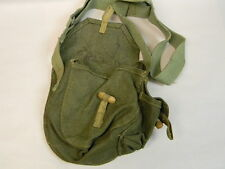 HUNGARIAN CANVAS DRUM POUCH WITH SHOULDER STRAP