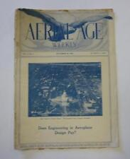 AERIAL AGE WEEKLY SEPT 1921 TOPEKA KANSAS STATE CAPITOL NAVY PLANES FOR SALE