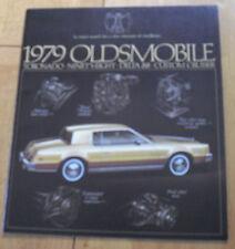 1979 Oldsmobile Totonado Delta 88 Dealer Brochure catal