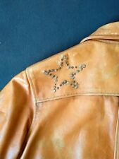 Levis Lvc vintage 70s scorched up barnstormer leatherjacket