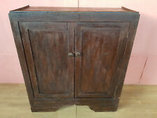 CREDENZA RUSTICA IN MASSELLO ORIGINALE DI EPOCA 900'