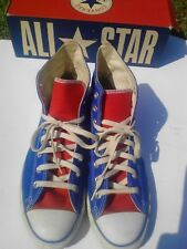 Vintage Converse 1J730 Red White & Blue Chuck Taylor Hi-top Men's 10/Women's 12