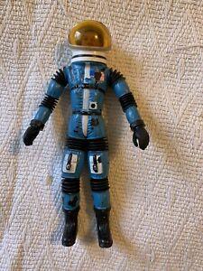 Vintage Mattel Major Matt Mason Jeff Long Figure With Helmet No Broken Wires