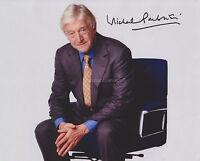 Michael Parkinson HAND SIGNED 8x10 Photo, Autograph Parkinson Show Interviewer B