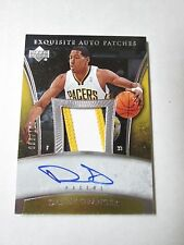 DANNY GRANGER 2005-06 EXQUISITE COLLECTION AUTOGRAPH 100
