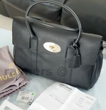 2b9188158591 Mulberry Bayswater Black Small Classic Grain Womens