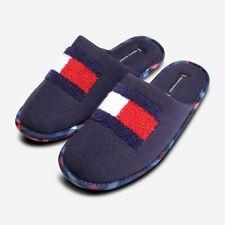 Tommy Hilfiger Mens Slider Slippers in Red White & Blue