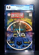 COMICS: DC: Detective Comics #375 (1968), 1st TV Batmobile cover - CGC 9.0