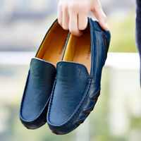 Men's Driving Moccasins Casual Loafers Shoes Slip On Dress Shoes Big Size 39-47