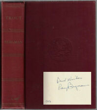 TROUT by Ray Bergman Fly Fishing Angling Signed Autographed Tying 1943
