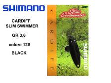CARDIFF SLIM SWIMMER  SPOON  GR 3,6  col. 12S BLACK TROUT AREA SHIMANO JAPAN