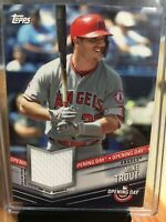2019 Topps Opening Day Baseball Mike Trout Relic Jersey  ODR-MT Angels Sup