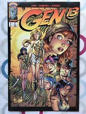 Gen 13 #3 J.Scott Campbell Indiana Jones Homage Cover • NM • 1st Print • Image