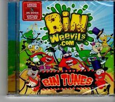 (FH694) Binweevils.Com Bin Tunes - 2013 sealed CD