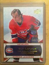 2008-09 Upper Deck Montreal Canadiens Centennial LEADERS 046/100- GUY LAFLEUR