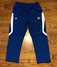 Size Medium Men's adidas CLIMALITE Kansas Jayhawks Athletic Workout Pants