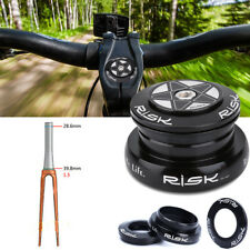 "RISK Alloy Bike Headset Set For 1.5"" Taper Pipe Fork 44mm Straight Tube Frame GL"