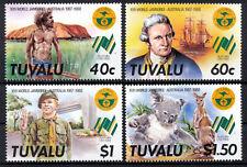 Tuvalu Mi. 480-83 ** Weltpfadfindertreffen in Australien
