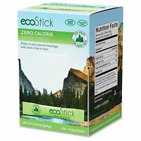 Ecostick Stevia Sweetener Packets - Packet - Artificial Sweetener - 200/box