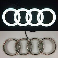 4D LED Car Tail Logo White Light for Audi A1 A3 A4 Auto Badge Light Head Emblem