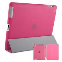 Smart Schutz Hülle iPad 2 3 4 Case Cover Aufstellbar Ständer Schale Etui Pink