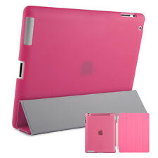Smart Protective Case IPAD 2 3 4 Case Cover Stand Up Stand Bowl Case Pink
