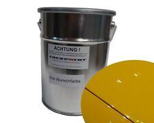 2 Liter A base d'eau Prêt à pulvériser Audi LZ1A Jaune-vegas Vernis voiture