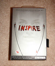 Yurbuds Inspire Limited Edition Ironman Series Sport Earphones w/ Mic Black/Red
