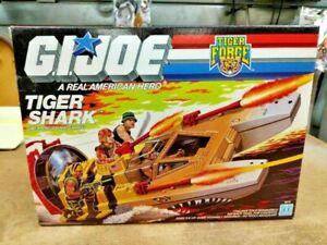 1988 GI Joe tiger shark action figure water moccasin 3.75 NIB, complete