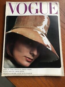 VOGUE Magazine 1963 November Jean Shrimpton Bailey FREE giftwrap FAST dispatch