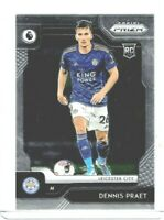 2019-20 Panini Chronicles Soccer Dennis Praet (Leicester City) EPL Prizm RC