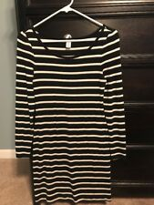 Womens Old Navy Dress Size Small Slub-Knit Tee Long Sleeve