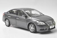 Nissan Sylphy car model in scale 1:18 gray
