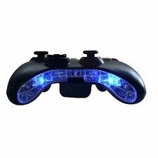 Xbox 360 Pre-wired LED Bottom Bumper Bar Mic Plate Insert Mod Kit (blue)