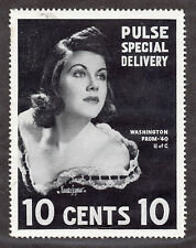 Cinderella- Pulse Special Delivery(1940) 10c MNH-Wash Prom  by M. Seymour-Scarce