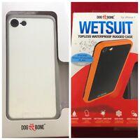 NEW Apple iPhone 7/8-Only OEM Dog & Bone Wetsuit Waterproof Topless Case