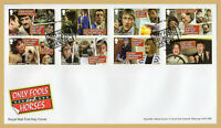 2021 ONLY FOOLS AND HORSES Stamp Set FDC FIRST DAY COVER