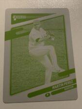 2021 Donruss MARTIN PEREZ Printing Plate 1/1 Red Sox