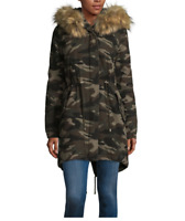 Women's a.n.a Hooded Lightweight Anorak Color: Camo Size: Small MSRP $150