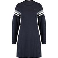 LACOSTE Women's Blue Marl Sporty Jumper Dress, size Large / FR 42