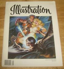 ILLUSTRATION Magazine #2 scarce Norman SAUNDERS cover/feature Spicy pulps