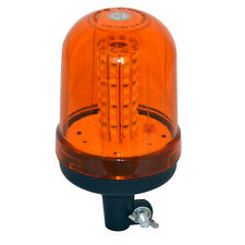 12v - 24v FLASHING AMBER LED BEACON POLE MOUNTED REVOLVING RECOVERY LIGHTS UK