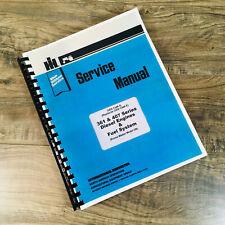 International Dt 407 Service Manual Diesel Engine Ampfuel Repair Shop 1456 Tractor